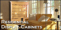 Display Cabinets For Residential Use