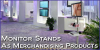 Monitor stands as marketing  products